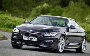 Picture BMW, coupe, BMW, Coupe, Sport, UK-spec, F13, 640d, 2015