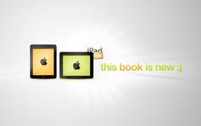Wallpaper is the new apple, iPad, apple