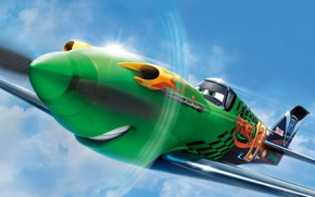 Picture cinema, animation, fire, flame, Disney, sky, aircraft, tuning, cartoon, eye, film, adventure, mouth, comedy, Ripslinger, ...
