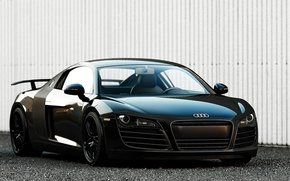 Picture Audi, Audi, black, supercar, Black, 2014