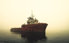Picture the ship, ship, oilandgas, supplyvessel, offshore, offshorevessel, anchorhandling, aywaille, ahts, M.Safiullin, femco, evay