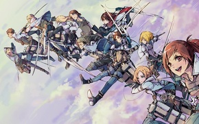 Picture art, the invasion of the giants, attack of the titans, Shingeki no Kyojin, Eren Jager