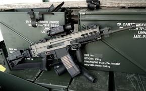 Picture machine, 5.56x45, assault rifle, Bren, CZ 805