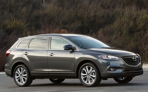 Picture Mazda, crossover, metallic grey, CX-9, Zoom zoom