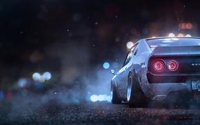 Picture Nissan, Skyline, Khyzyl Saleem, Ghost Games, Game Art, Concept Artist at EA