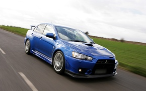 Picture nature, Japan, track, evo x