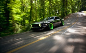 Picture road, nature, Mustang, Ford, RTR-X