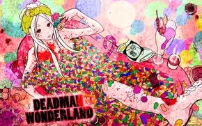 Picture anime, candy, Deadman Wonderland, Shiro