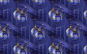 Wallpaper balls, background, holiday, texture, New year, Christmas balls