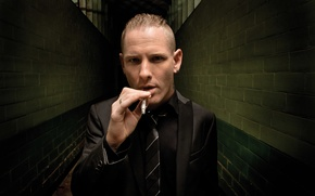 Picture music, tie, male, jacket, metal, Mohawk, Slipknot, nu metal, alternative, Corey Taylor, Corey Taylor, Stone …
