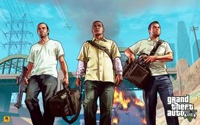 Picture the bandits, bags, Michael, Michael, gta, Grand Theft Auto V, Franklin, Los Santos, Trevor, Franklin, …