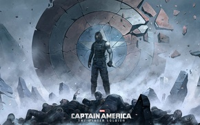 Picture Captain America: The Winter Soldier, winter soldier, bucky barnes, the first avenger: the Other war