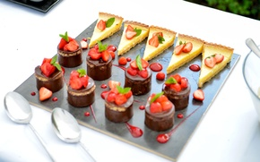 Picture strawberry, decoration, cake, dessert, sweet