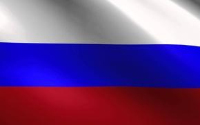 Picture Flag, Moscow, Russia, tricolor, homeland, patriotism, patriot