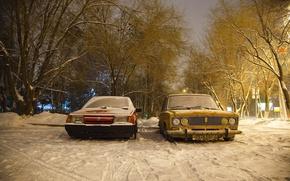 Picture machine, snow, Auto, Lada, auto, Lada, VAZ, 2108, BPAN, Without Landing Auto No