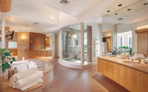 Picture interior, home, luxury, bathroom