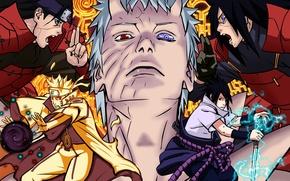 Picture Sasuke, Sasuke, Naruto, Naruto, shippuden, Uchiha, Uchiha, Madara, Manga, Obito, Madara, Upholstered, 652, Hashirama, Senju