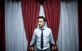 Picture look, actor, curtains, James McAvoy, james mcavoy