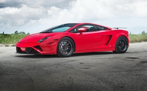 Picture Lamborghini, Gallardo, Wheels, Strasse