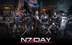 Picture robot, Mass Effect, Ghost, Cerberus, Kai Len