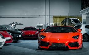 Picture Lamborghini, Cars, Auto, LP700-4, Aventador