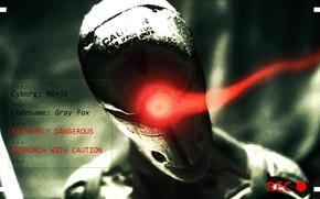 Picture metal gear solid, Metal Gear, cyborg ninja, Frank Jaeger, Gray Fox