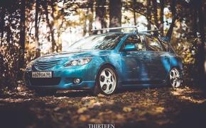 Wallpaper lights, photography, Thirteen, autumn, photographer, auto, Mazda, machine, auto, photographer, Mazda