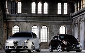 Picture Alfa Romeo, two, mixed