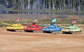 Picture tank, Russia, T-72 B, nation