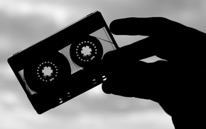Wallpaper film, music, cassette, audio cassette, retro