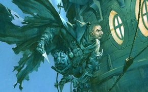 Picture Magic: The Gathering, Jesper Ejsing, The bandit of the Harbour, Harbor Bandit