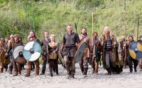 Picture sand, the series, warriors, historical, Vikings, The Vikings, Travis Fimmel