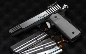 Picture gun, weapons, self-loading, Trojan
