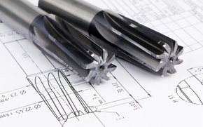 Picture metal, drill, plans