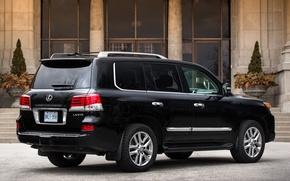 Picture background, Lexus, Lexus, SUV, Jeep, rear view, 570