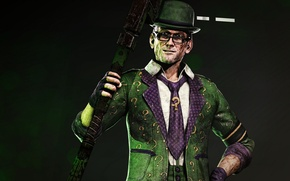 Picture DC Comics, The Riddler, Riddler, supervillain, The Riddler