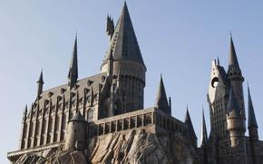 Picture castle, hogwarts, themepark