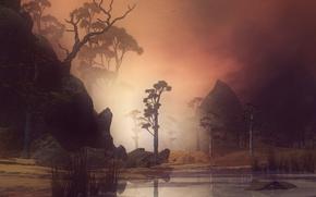 Wallpaper graphics, figure, nature