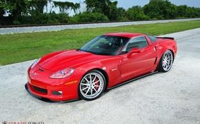 Picture Z06, Corvette, forged, strasse