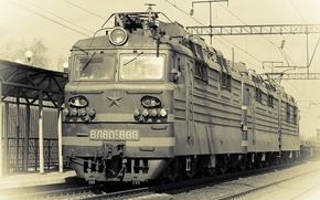 Picture train, Locomotive, electric