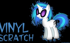 Picture my little pony, friendship is magic, Vinyl Scratch
