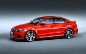 Picture Audi, Audi, sports car, sedan, RS 3