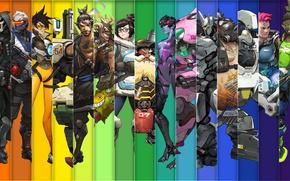 Picture Blizzard Entertainment, Reaper, Hanzo, Mei, Bastion, Overwatch, Tracer, Widowmaker, Mercy, McCree, Pharah, Reinhardt, In zenyat, …