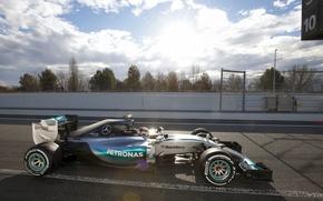 Picture Mercedes, Blik, Formula 1, AMG, Hamilton, W06, Tests