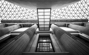 Picture London, window, architecture, column, British Museum