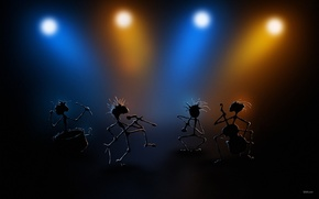 Picture music, group, concert