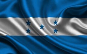 Picture Flag, Texture, Flag, Honduras, Of The Republic Of Honduras, Honduras