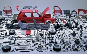 Picture spare parts, designer build your German, Analysis