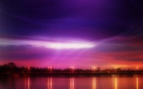 Picture bridge, lights, color