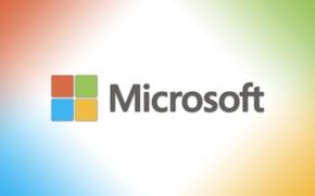 Picture microsoft, logo, bright, new logo